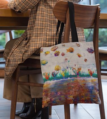 """Rainbow Garden"" Tote bag"