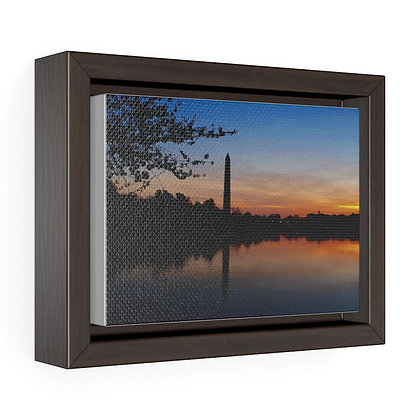 """""""A New Day has Come 2021"""" Horizontal Framed Premium Gallery Wrap Canvas Print"""