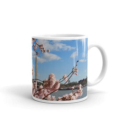 """Monumental Cherry Blossoms"" Mug"