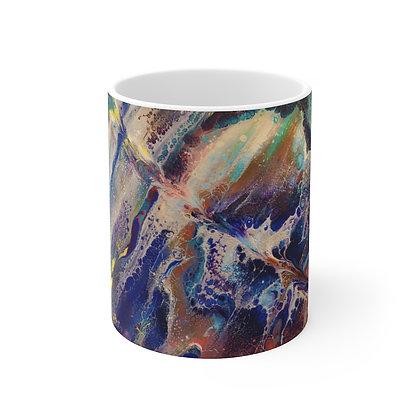 """""""Chaos"""" Ceramic Mug 11oz"""