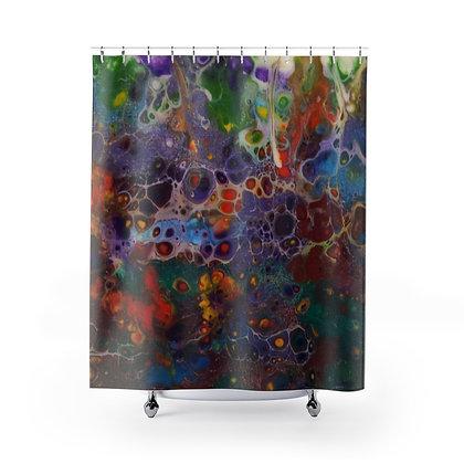 """""""Flower Garden"""" Shower Curtain"""
