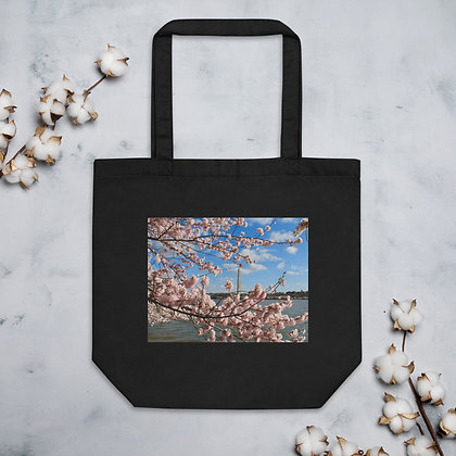 """Monumental Cherry Blossom"" Eco Tote Bag"