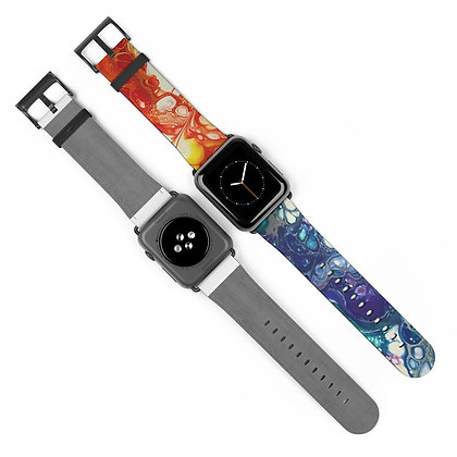 Fire and Ice Watch Band