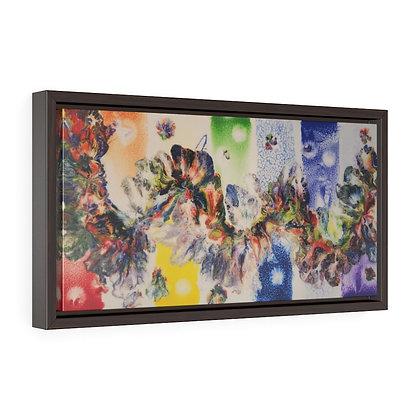 """Saturniidae"" Framed Premium Gallery Wrap Canvas Print"