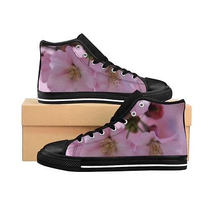 """Very Cherry"" Women's High-top Sneakers"