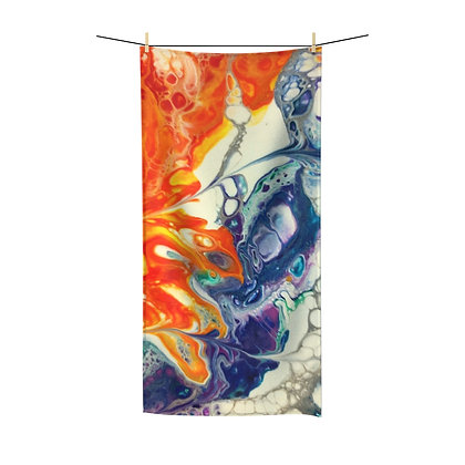 Fire and Ice Polycotton Towel