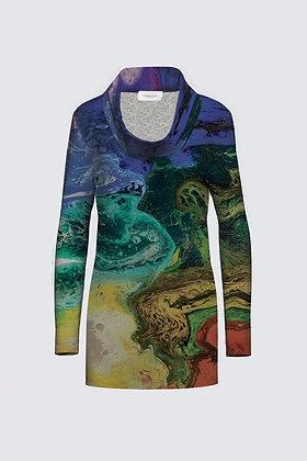 """Electric Pride"" Mia Tunic in Sweater Knit"