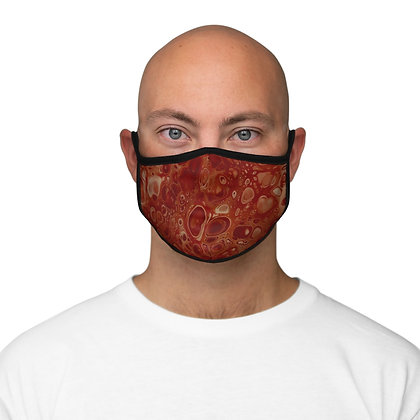 """Volcano"" Fitted Polyester Face Mask"