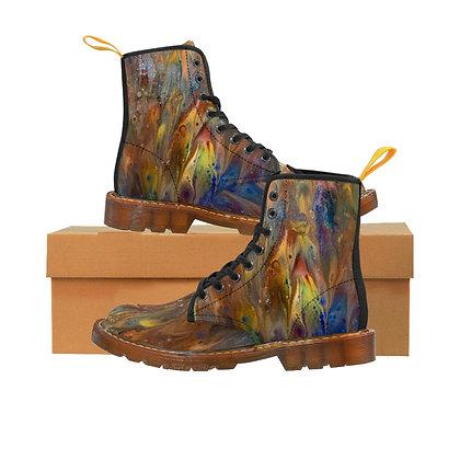 """Carnivale"" Women's Canvas Boots"