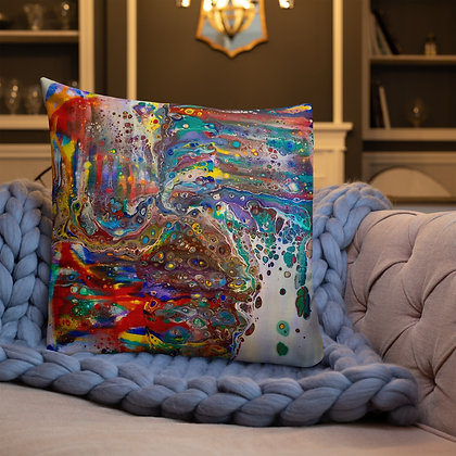 """""""Out Painting the Town"""" Premium Pillow"""