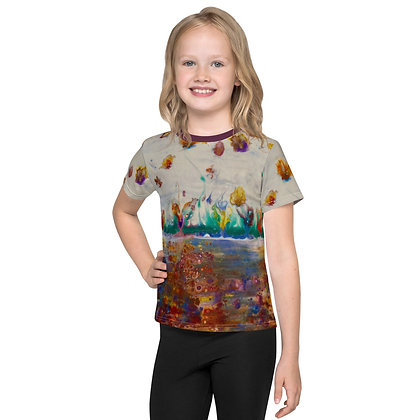 """Rainbow Garden"" Kids T-Shirt"