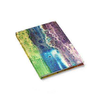 """Rainbow Falls"" Journal - Ruled Line"