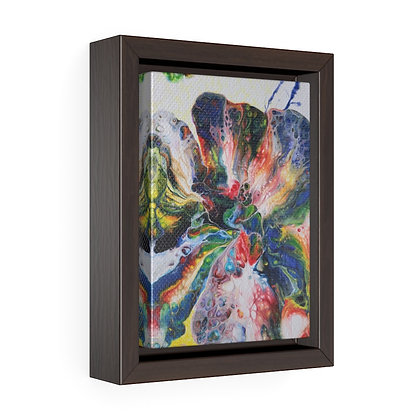 """Kaleidoscope"" Vertical Framed Premium Gallery Wrap Canvas Print"