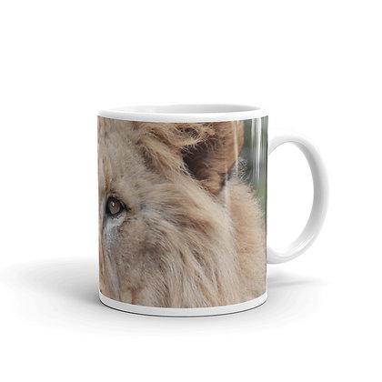 """The Lion Wakes"" Mug"