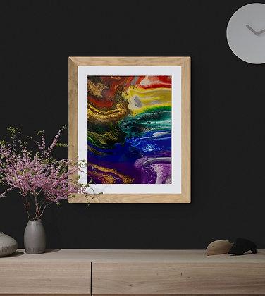 """""""Electric Rainbow Storm"""""""