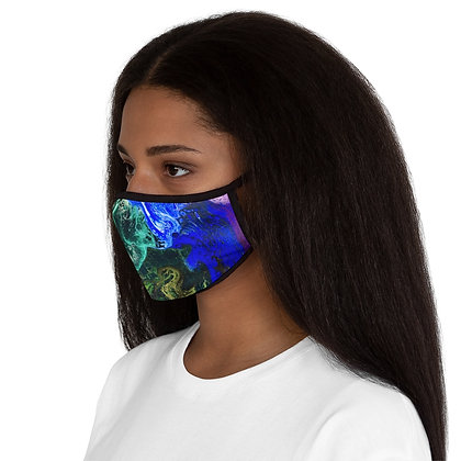 """""""Electric Pride"""" Fitted Polyester Face Mask"""