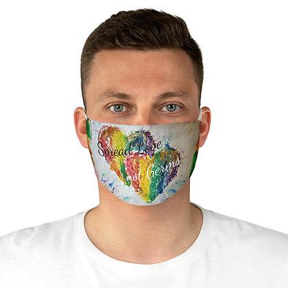 """Spread Love"" Fabric Face Mask"