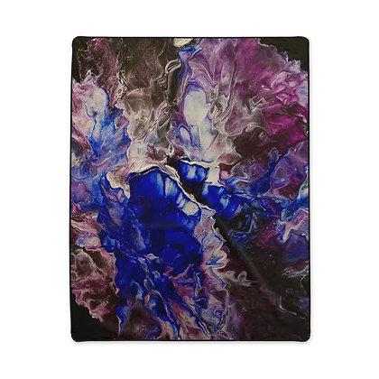 """In Bloom"" Polyester Blanket"
