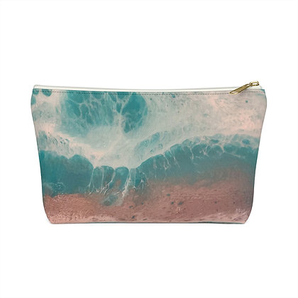"""""""Côte d'or"""" Accessory Pouch w T-bottom"""