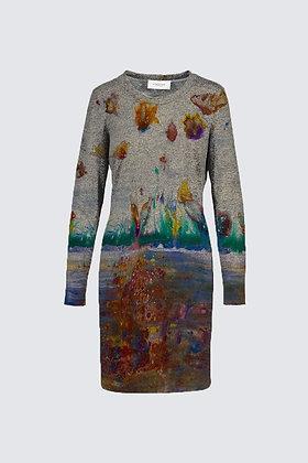 """Rainbow Garden"" Sophia Dress"
