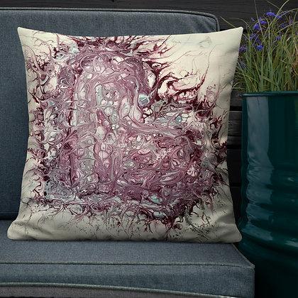 """Heartache"" Premium Pillow"