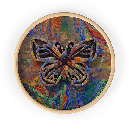 """Proud Butterfly"" Wall clock"