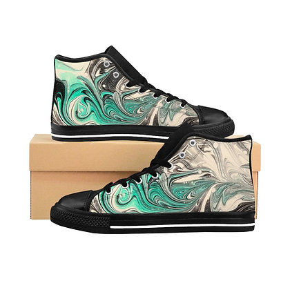 """Come Together"" Women's High-top Sneakers"