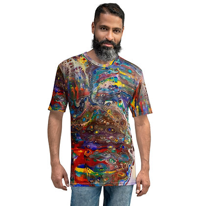 """""""Out Painting the Town"""" Men's T-shirt"""