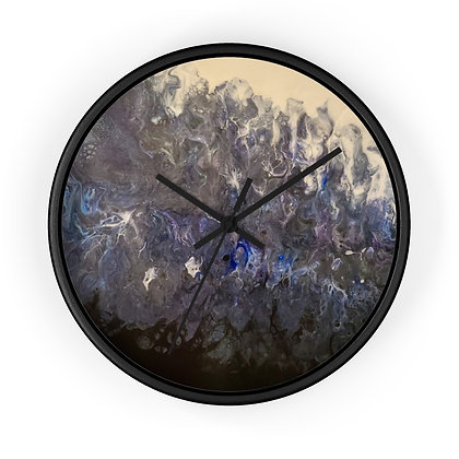 """""""Haboob"""" Wall clock"""