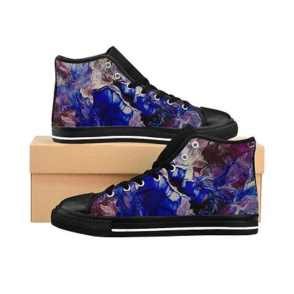 """""""In Bloom"""" Men's High-top Sneakers"""