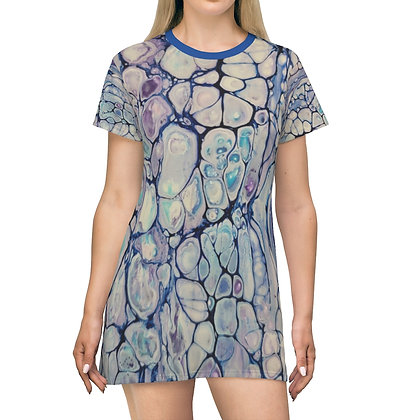 """Gavin"" Print T-Shirt Dress"