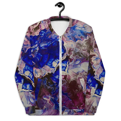 """In Bloom"" Unisex Bomber Jacket"