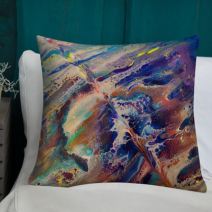 Chaoic Stormy Weather Premium Pillow