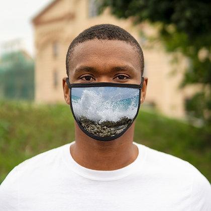"""""""Crash"""" Mixed-Fabric Face Mask"""