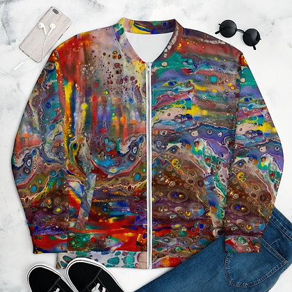 """""""Out Painting the Town"""" Unisex Bomber Jacket"""
