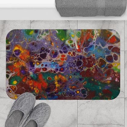 """""""Flower Garden"""" Bath Mat"""