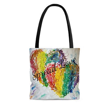 """Spread Love"" Tote Bag"