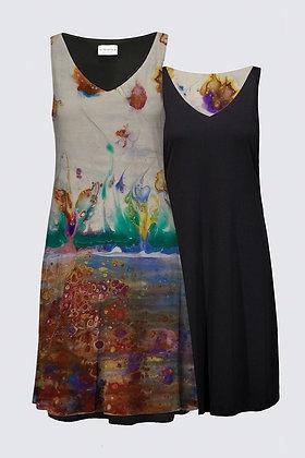 """Rainbow Garden"" Kate Dress"