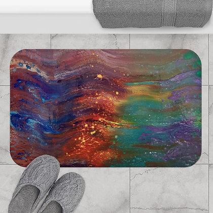 """Ride the Wave"" Bath Mat"