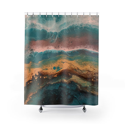 """""""Côte-d'Or"""" Shower Curtains"""