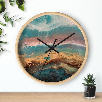 """Côte d'or"" Wall clock"