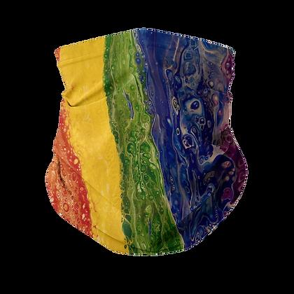 Rainbow Sublimation Neck Gaiter