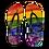 Thumbnail: Rainbow Kids Flip Flops