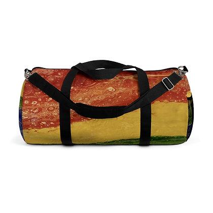 """""""Rainbow Striped"""" Duffel Bag"""