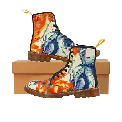 Fire and Ice Men's Canvas Boots