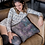 """Thumbnail: """"Stormy Weather"""" Faux Suede Square Pillow"""