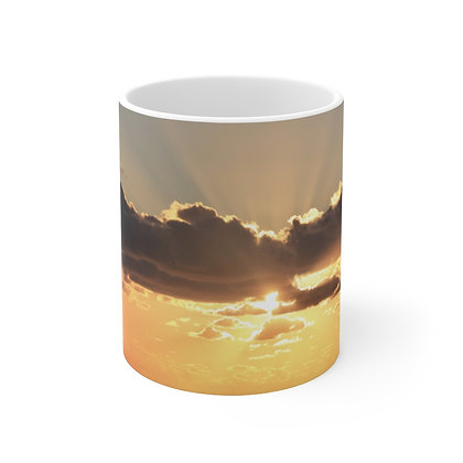 """Risen"" Ceramic Mug 11oz"