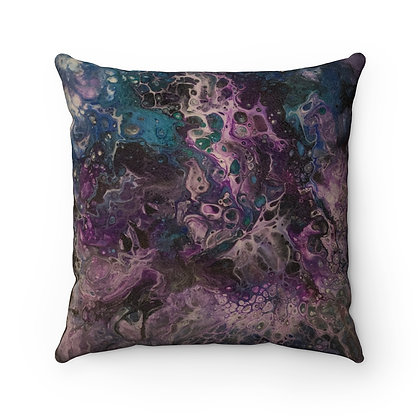 """""""Stormy Weather"""" Faux Suede Square Pillow Case"""