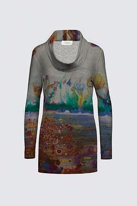 """""""Rainbow Garden"""" Mia Tunic in Sweater Knit"""