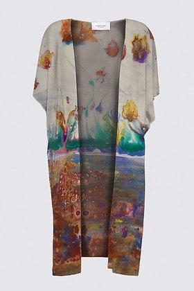 """""""Rainbow Garden"""" Kimono Wrap"""